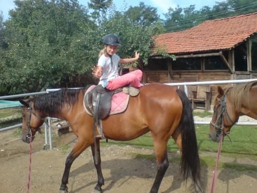 На коня могат да се правят всякакви фокуси...
